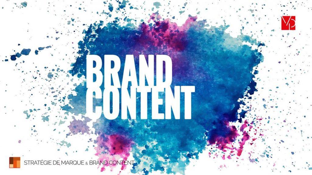 Illustration du brand content