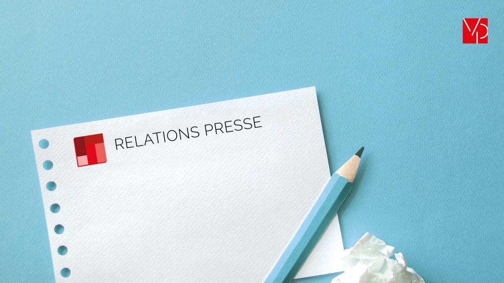 illustration imagé d'un feuille vierge A4 comme pour montrer le défi du communiqué de presse à une page