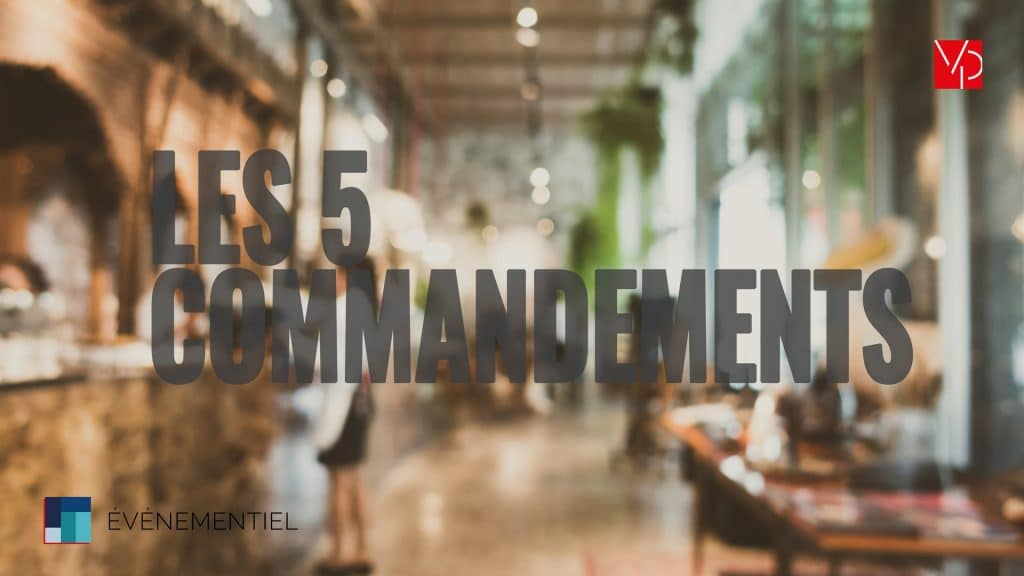 "Illustration de l'article ""les 5 commandements d'un événementiel de networking haut-de-gamme"" On y voit une photo flou d'un restaurant classe."